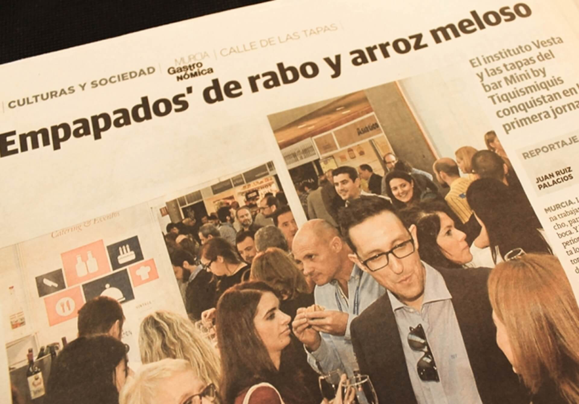 Murcia Gastronómica, empapados de rabo