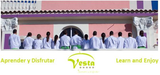 Alumnos del Instituto Vesta