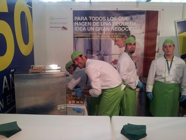 Alumnos de Vesta en Gastronómica 2014