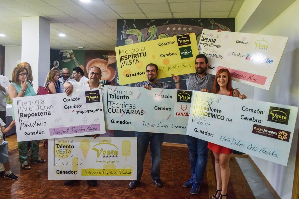 Ganadores Premio Talento Vesta
